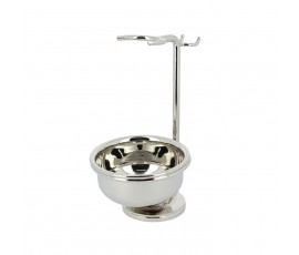 Tonsor 1951 Shaving Brush-Razor-Bowl Stand