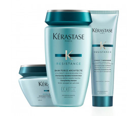 Kerastase Kit Resistance Force Architecte Bain + Masque + Treatment
