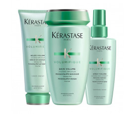 Kerastase Kit Volumifique Volume Bain + Gelee + Treatment