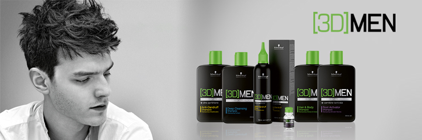 Schwarzkopf Professional 3dmen For Mens Styling And Hair Care