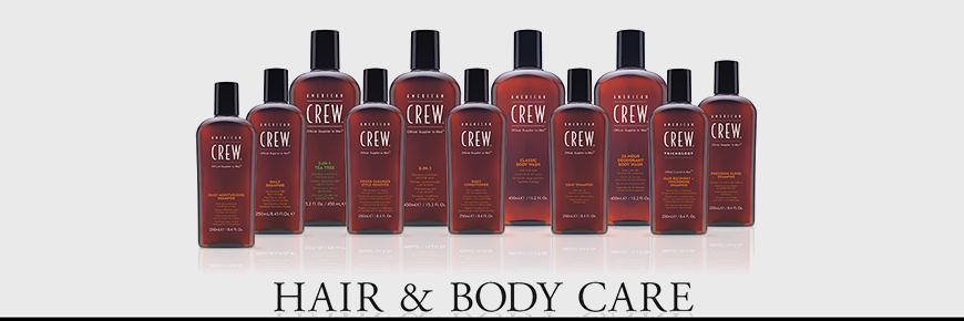 Trilab American Crew Hair and Body Care