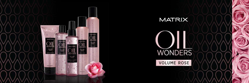 Trilab Matrix Oil Wonders Volume Rose