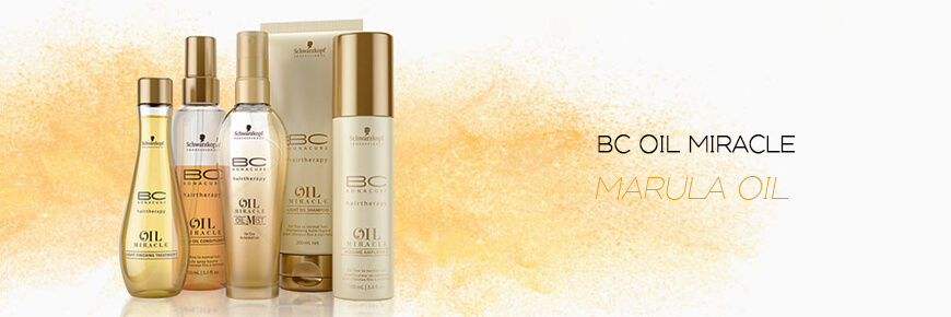 Trilab Schwarzkopf Professional BC Bonacure Oil Miracle Marula Oil