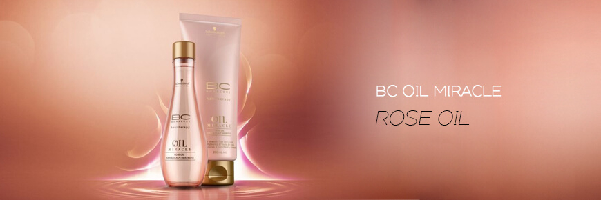 Trilab Schwarzkopf Professional BC Bonacure Oil Miracle Rose Oil